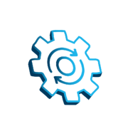 Deployment Automation Icon Blue