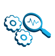Test Automation Icon Blue