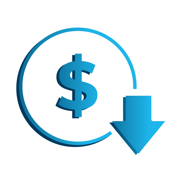 Reduce Costs Icon